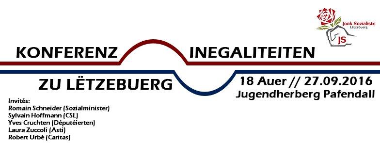 Conférence au sujet des inégalités au Luxembourg
