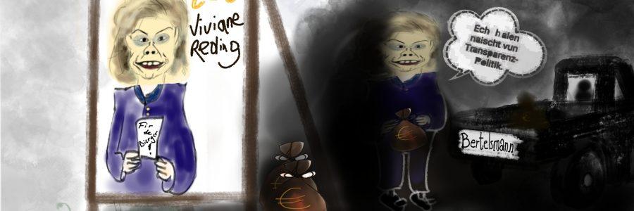 Wir halten nicht viel von Viviane Reding!